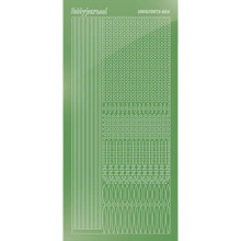 Find It Trading Hobbydots sticker style 3- Mirror - Lime