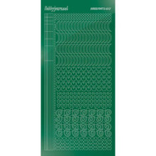 Find It Trading Hobbydots sticker style 17- Mirror - Green