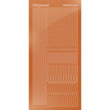 Find It Trading Hobbydots sticker style 3- Mirror - Copper