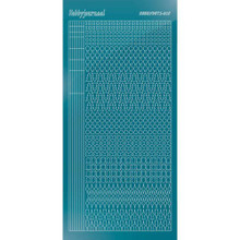 Find It Trading Hobbydots sticker style 15- Mirror - Turquoise