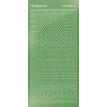 Find It Trading Hobbydots sticker style 15- Mirror - Lime