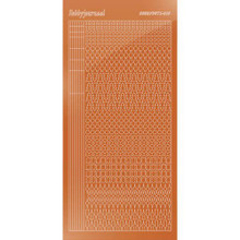 Find It Trading Hobbydots sticker style 15- Mirror - Copper