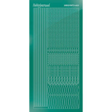 Find It Trading Hobbydots sticker style 3- Mirror - Christmas Green