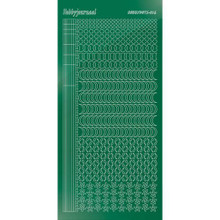 Find It Trading Hobbydots sticker style 16- Mirror - Green