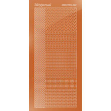 Find It Trading Hobbydots sticker style 4- Mirror - Copper