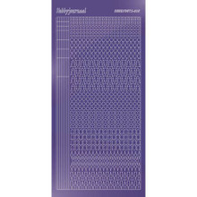 Find It Trading Hobbydots sticker style 15- Mirror - Purple