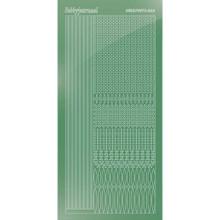 Find It Trading Hobbydots sticker style 3- Mirror - Apple Green