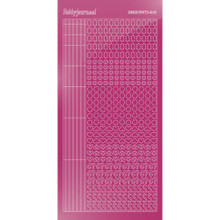 Find It Trading Hobbydots sticker style 10 - Mirror - Pink