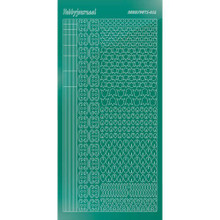 Find It Trading Hobbydots sticker style 12 - Mirror - Christmas Green