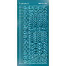 Find It Trading Hobbydots sticker style 12 - Mirror - Turquoise