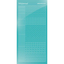 Find It Trading Hobbydots sticker style 10 - Mirror - Emerald