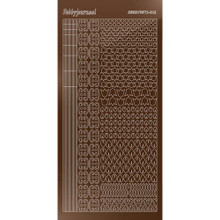 Find It Trading Hobbydots sticker style 12 - Mirror - Brown