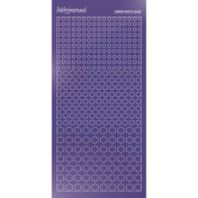 Find It Trading Hobbydots sticker style 8- Mirror - Purple
