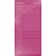 Find It Trading Hobbydots sticker style 9 - Mirror - Pink