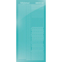 Find It Trading Hobbydots sticker style 2- Mirror - Emerald