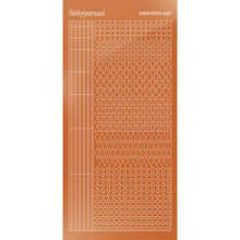 Find It Trading Hobbydots sticker style 9 - Mirror - Copper