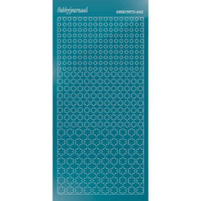 Find It Trading Hobbydots sticker style 8- Mirror - Turquoise
