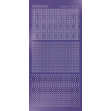 Find It Trading Hobbydots sticker style 7- Mirror - Purple