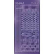 Find It Trading Hobbydots sticker style 9 - Mirror - Purple
