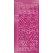 Find It Trading Hobbydots sticker style14 - Mirror - Pink