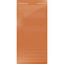 Find It Trading Hobbydots sticker style 13 - Mirror - Copper