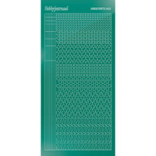 Find It Trading Hobbydots sticker style 13 - Mirror - Christmas Green
