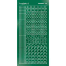 Find It Trading Hobbydots sticker style 9 - Mirror - Green