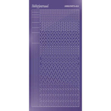 Find It Trading Hobbydots sticker style 13 - Mirror - Purple