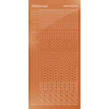 Find It Trading Hobbydots sticker style14 - Mirror - Copper