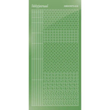 Find It Trading Hobbydots sticker style 10 - Mirror - Lime Green
