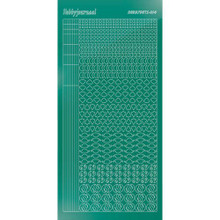 Find It Trading Hobbydots sticker style14 - Mirror - Christmas Green