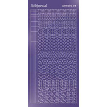 Find It Trading Hobbydots sticker style14 - Mirror - Purple