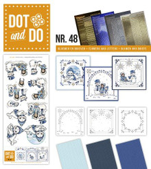 Dot and Do Playful Winter DODO048 Hobbydots Card Set