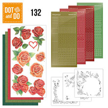 Dot and Do Roses DODO132 Hobbydots Card Set