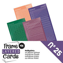 Find It Trading Hobbydots Stickers for No. 25 Frame Layered Card Set