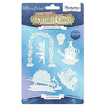 Hunkydory Moonstone Garden Grow Grow a Happy Life Cutting Dies MSTONE025