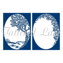 Tattered Lace A Moment of Calm Cutting Dies TLD0588