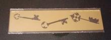"Keys Border Metal Stencil DAH-253  5""x 1 1/2"""