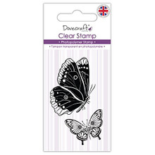 DCSTP074 Dovecraft Clear Stamp-Butterflies