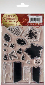 Precious Marieke Merry & Bright Clear Stamps-Candle