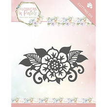 Precious Marieke- Flowers In Pastels- Single Flower Cutting Die PM10137