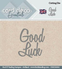 Find It Trading Card Deco Essentials Cutting Dies- Good Luck CDECD0002
