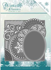 Jeanine's Art Winter Classics Die-Curly Frame