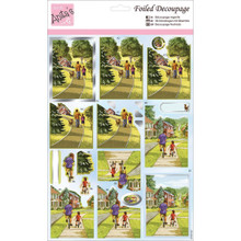 Docrafts A169555 Anitas A4 Foiled Decoupage Sheet - Father & Son