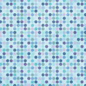 HOTP Winter Dots 8x8 Papers 25-sheet Pack 30003