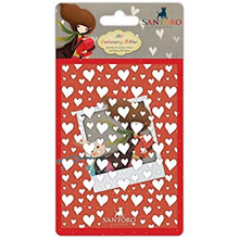 Santoro Kori Kumi A6 Embossing Folder-The Gift Of Friendship