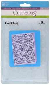 Cuttlebug 5-Inch by 7-Inch Embossing Folder, Mary Ann