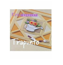 Kreabooklet Trapunto Embroidery on Paper MK0324E