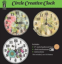 Hot Off The Press - Clock Kit - Circle