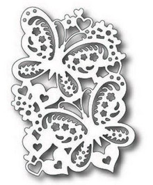 Tutti Designs Lovely Butterfly Duo Cutting Die TUTTI-203